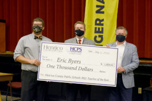 Eric Byers-Teacher of the Year